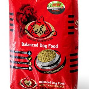 Liebe Dog Food With Aloe Adult - 10kg