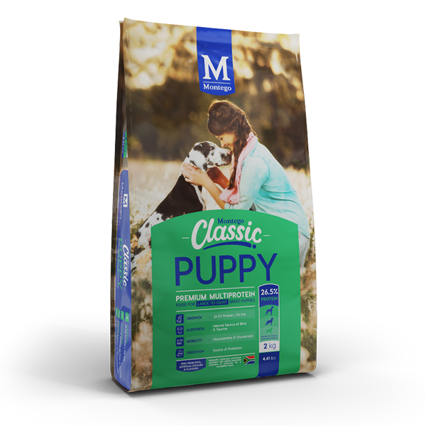 Montego - Classic Puppy - Large Breed 2kg