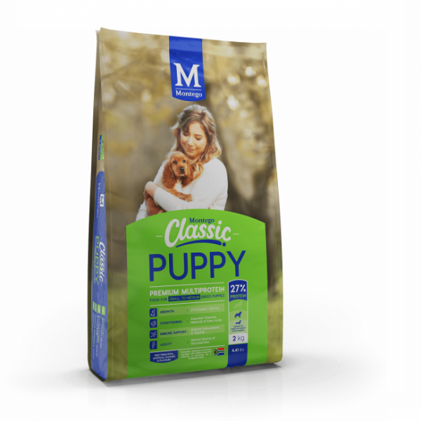 Montego - Classic Puppy - Small Breed 2kg