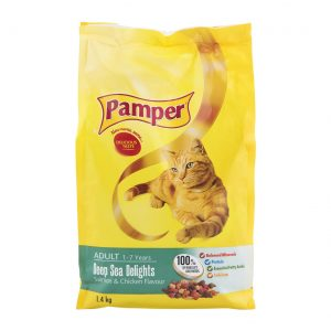 Pamper Deap Sea Delight 1.4kg