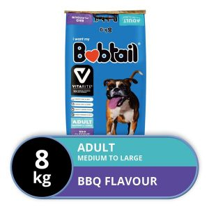 Bobtail - Medium To Large - BBQ Flavor - 8kg