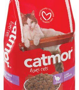 Catmor - Dry Adult Cat Food - Liver 1.75kg
