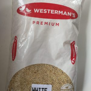 Westerman's White Millet Seeds 1kg