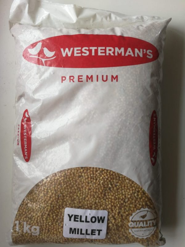 Westerman's Yellow Millet Seeds 2kg