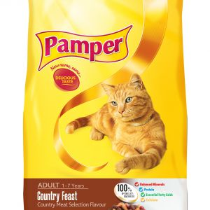Pamper Country Feast 1.4kg