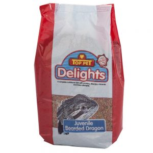 Top Pet Juvenile Bearded Dragon 1kg