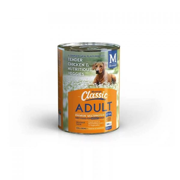 Montego - Classic Adult Dog Wet Food Chicken 775g