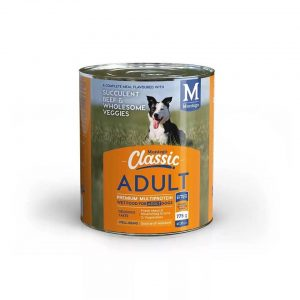 Montego - Classic Adult Dog Wet Food Beef/Veg 775g