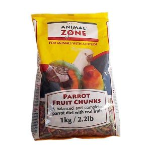 Animal Zone Parrot Fruit Chunks 1kg