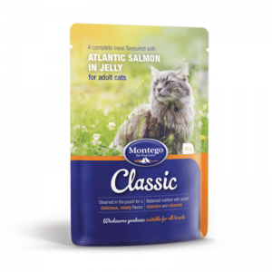 Montego Classic Cat Wet Food Salmon 85g